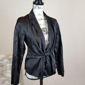 Eileen Fisher Ladies Brown Blazer Long Sleeve Top